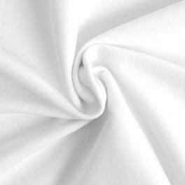 Bord côte uni blanc