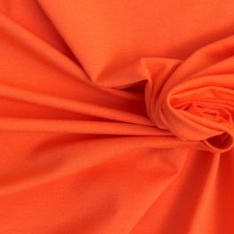 Jersey stof in viscose rood