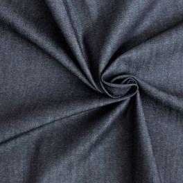Tissu jeans stretch souple bleu foncé