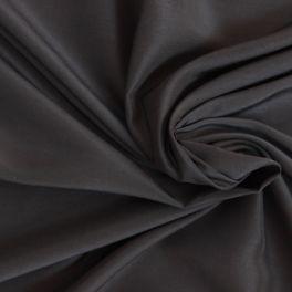 Tissu soyeux en viscose et modal uni noir