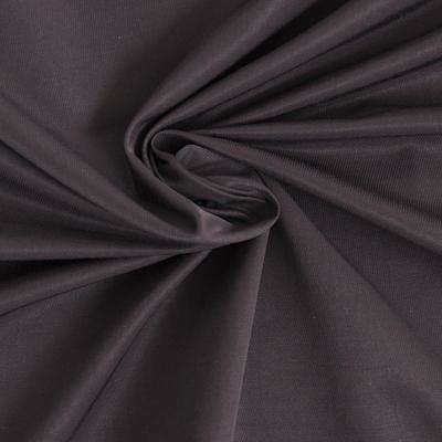 Tissu en coton chocolat