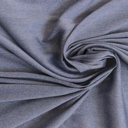 Voile viscose uni gris bleuté