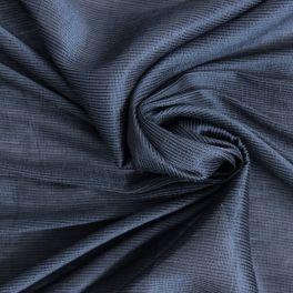 Voile léger en viscose mélangé irisé bleu turquin