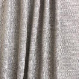 Tissu d'ameublement aspect lin chiné beige sable