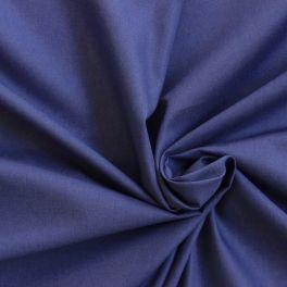 Toile a drap 100% coton bleu marine