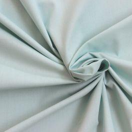 Toile a drap 100% coton vert aqua