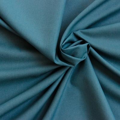 Toile a drap 100% coton bleu pétrol