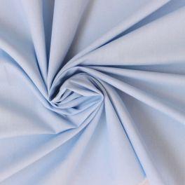 Toile a drap 100% coton bleu polaire