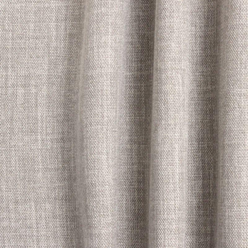 tissu obscurcissant grande largeur effet lin gr ge. Black Bedroom Furniture Sets. Home Design Ideas