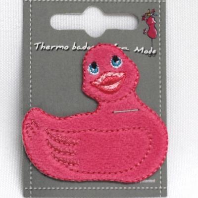 petit canard rose thermocollant