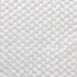 Fausse fourrure à motif embossé blanc neige