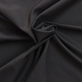 Jersey fabric of polyester and elasthanne dark gray
