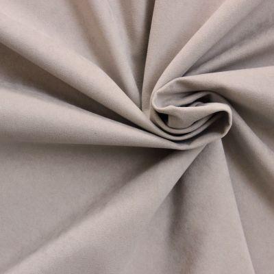 Tissu effet peau de p che 100 polyester sable - Peche a peau lisse ...