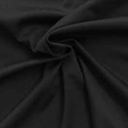 Grey jersey fabric of polyester