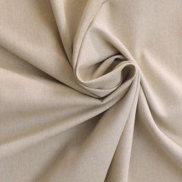 Tissu en coton gratté sable à chevrons