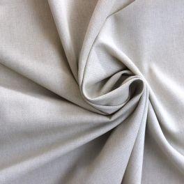 Tissu en coton gratté gris à chevrons