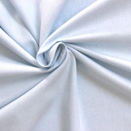 Tissu en coton gratté bleu givré à chevrons