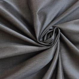 Tissu en coton mélangé gris irisé