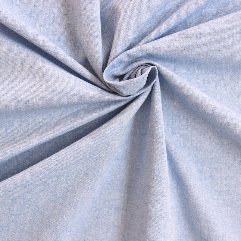 Tissu 100 Coton : tissu 100 coton uni bleu oxford ~ Teatrodelosmanantiales.com Idées de Décoration
