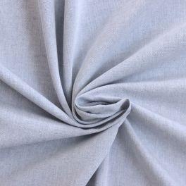 Tissu en coton gratté bleu jeans à chevrons