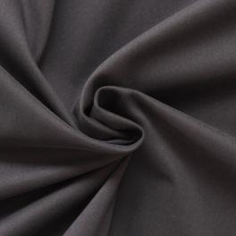Tissu satin de coton emerisé bleu marine