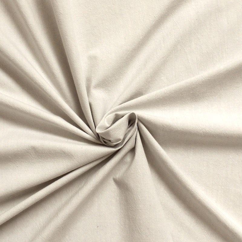 Tissu 100 Coton : tissu 100 coton aspect froiss gris perle ~ Teatrodelosmanantiales.com Idées de Décoration
