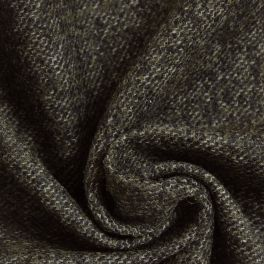 Woolen fabric khaki chiné