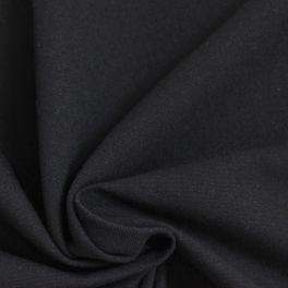 Katoen Cretonne zwart