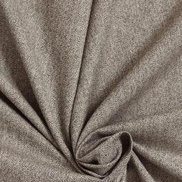 Coton japonais beige aspect jean avec bande rouge et blanche