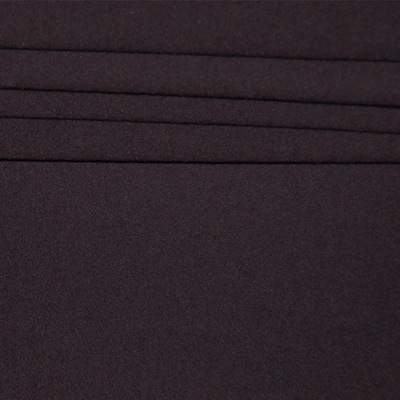 Tissu en laine uni brun