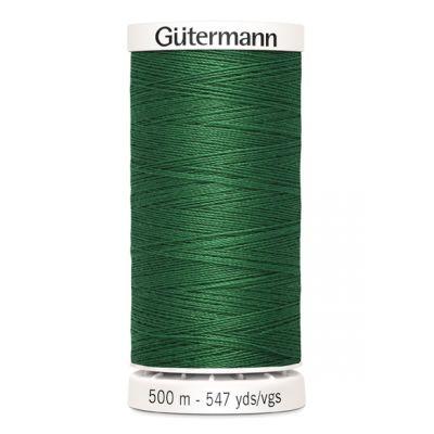 Fil à coudre vert 500m Gütermann 237