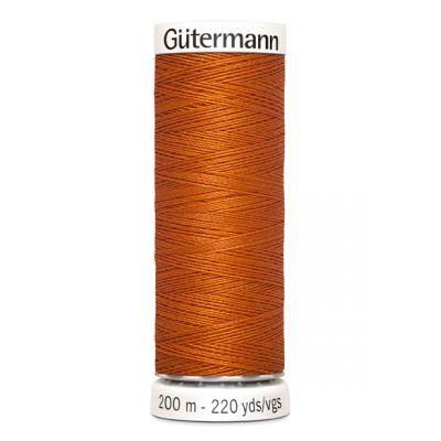 Fil à coudre orange Gütermann 932