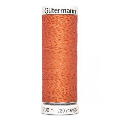 Fil à coudre orange Gütermann 895