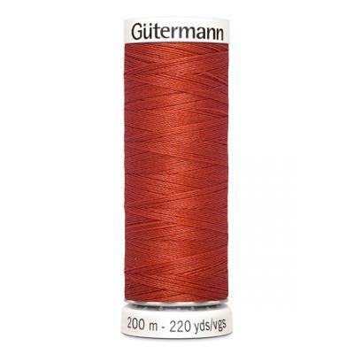 Fil à coudre orange Gütermann 589