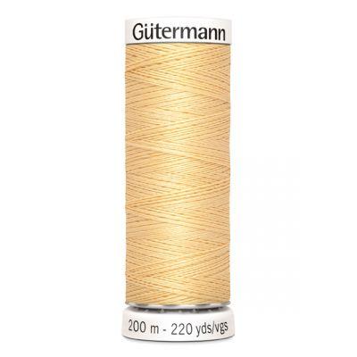 Fil à coudre orange Gütermann 3