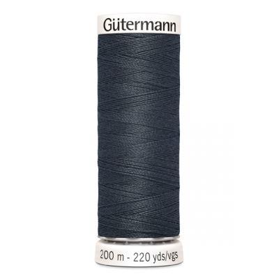 Fil à coudre gris Gütermann 95