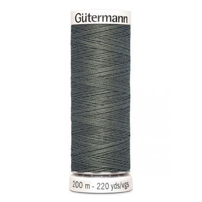 Fil à coudre gris Gütermann 635