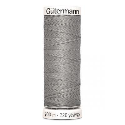 Grijs naaigaren Gütermann 854