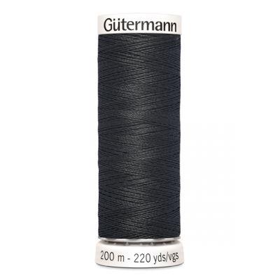 Fil à coudre gris Gütermann 190