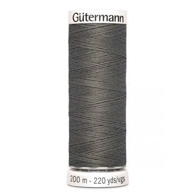 Fil à coudre gris Gütermann 35