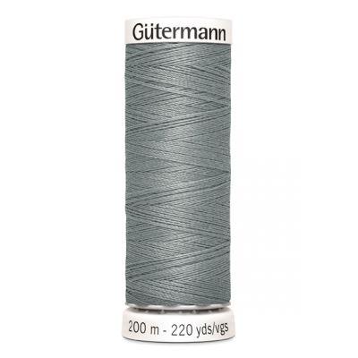 Fil à coudre gris Gütermann 545