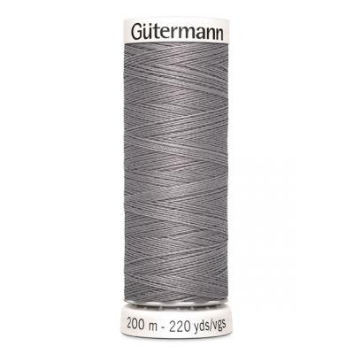 Fil à coudre gris Gütermann 493