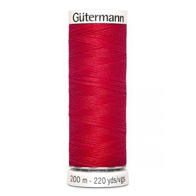 Fil à coudre rouge Gütermann 156
