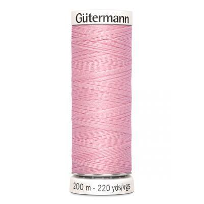 Fil à coudre rose Gütermann 660