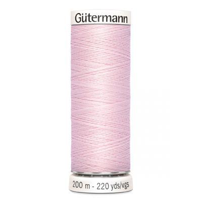 Fil à coudre rose Gütermann 372