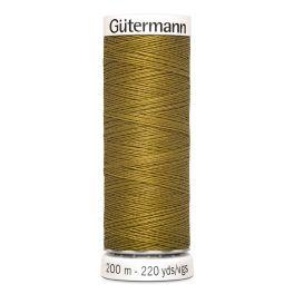 Fil à coudre vert Gütermann 886