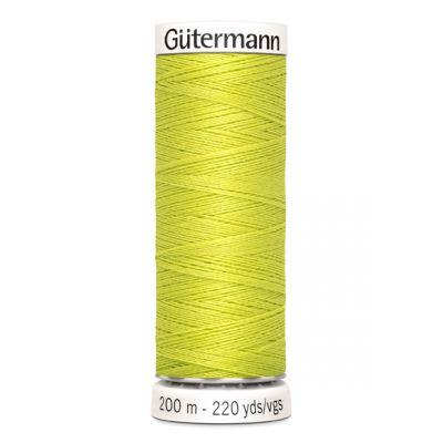 Fil à coudre vert Gütermann 334