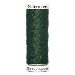 Fil à coudre vert Gütermann 555