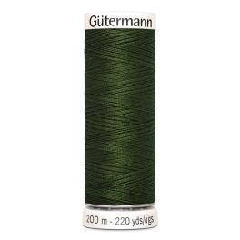 Fil à coudre vert Gütermann 597