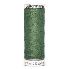 Fil à coudre vert Gütermann 296